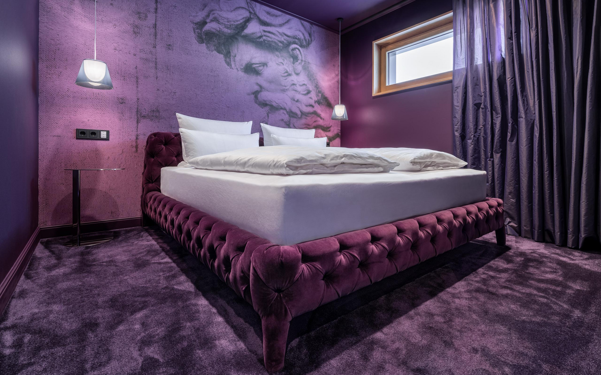 Suite Blueberry Fields Schlafzimmer - Designhotel Laurichhof Pirna
